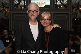 Doug Wright and Tina Fallon. Photo by Lia Chang