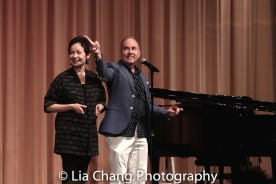 Lynn Ahrens and Stephen Flaherty. Photo by Lia Chang