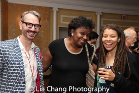 Joey Stocks, Kirsten Childs and Kia Corthron. Photo by Lia Chang