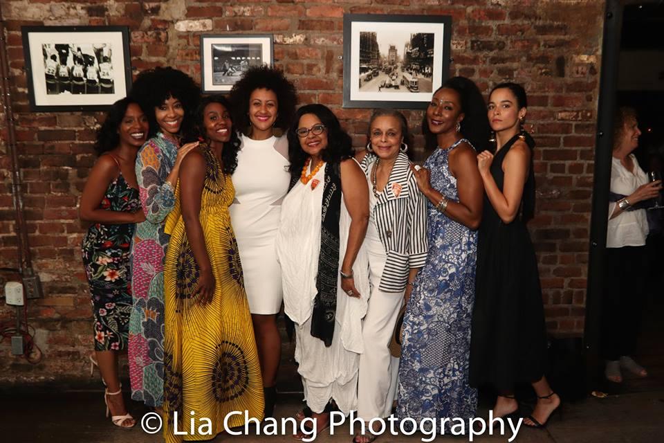 Michelle Wilson, Nedra McClyde, Joniece Abbott-Pratt, Lileana Blain-Cruz, Lynda Gravatt, Marie Thomas, Harriett D. Foy and Juliana Canfield. Photo by Lia Chang