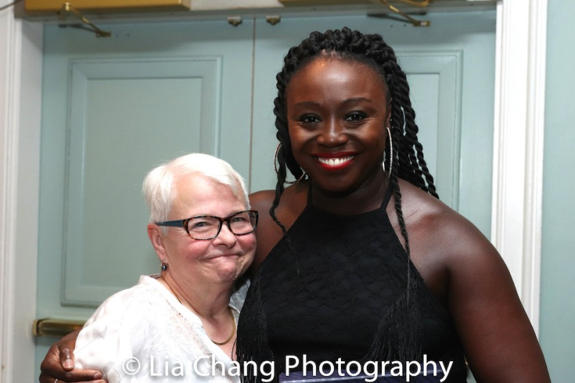Paula Vogel and Jocelyn Bioh. Photo by Lia Chang