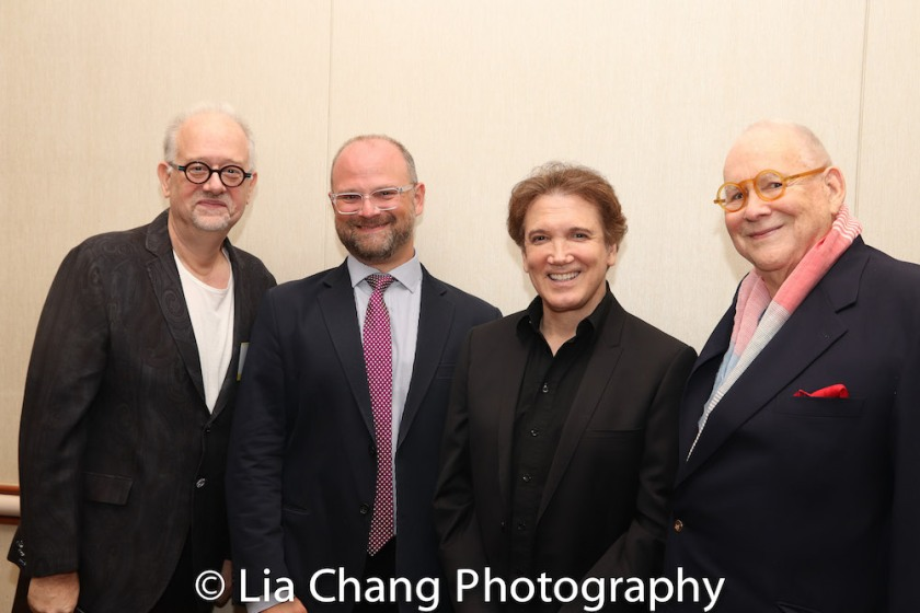 Doug Wright, Carl Andress, Charles Busch, Jeffry Melnick. Photo by Lia Chang