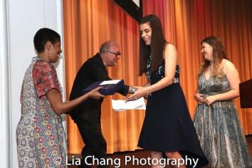 Lydia R. Diamond, Doug Wright, Andrea Peña and Sawyer Garrity. Photo by Lia Chang