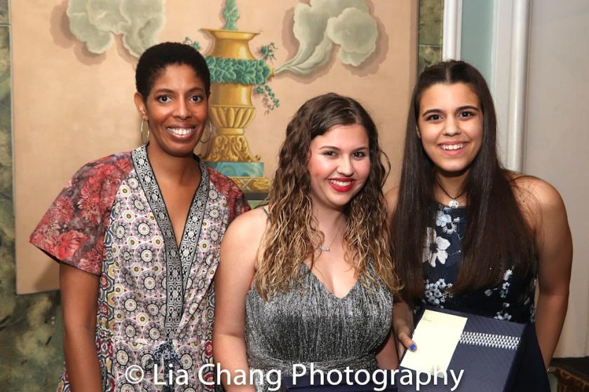 Lydia R. Diamond, Sawyer Garrity and Andrea Peña. Photo by Lia Chang