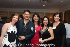 Laura Brandel, Timothy Huang, Christine Toy Johnson and a guest. Photo by Lia Chang