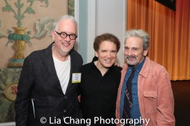 Doug Wright, Charles Busch and Craig Lucas. Photo by Lia Chang