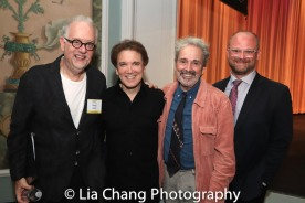 Doug Wright, Charles Busch and Craig Lucas, Carl Andress. Photo by Lia Chang