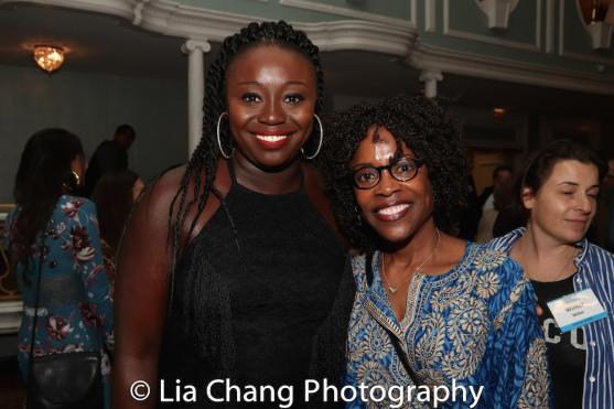 Jocelyn Bioh and Charlayne Woodard. Photo by Lia Chang