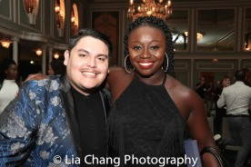 Isaac Gomez and Jocelyn Bioh. Photo by Lia Chang
