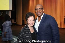 Lynn Ahrens, Alton Fitzgerald White. Photo by Lia Chang