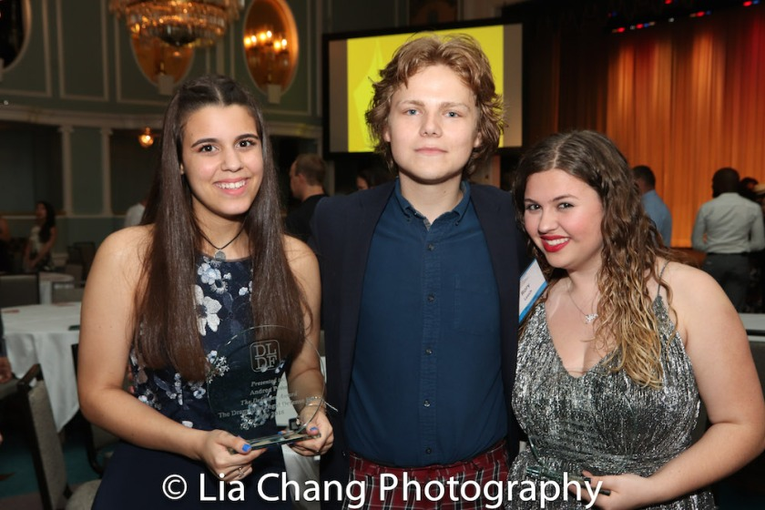 Andrea Peña, Rory James Leech and Sawyer Garrity. Photo by Lia Chang
