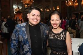 Isaac Gomez and Lia Chang