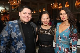 Isaac Gomez, Lia Chang and Martyna Mojok