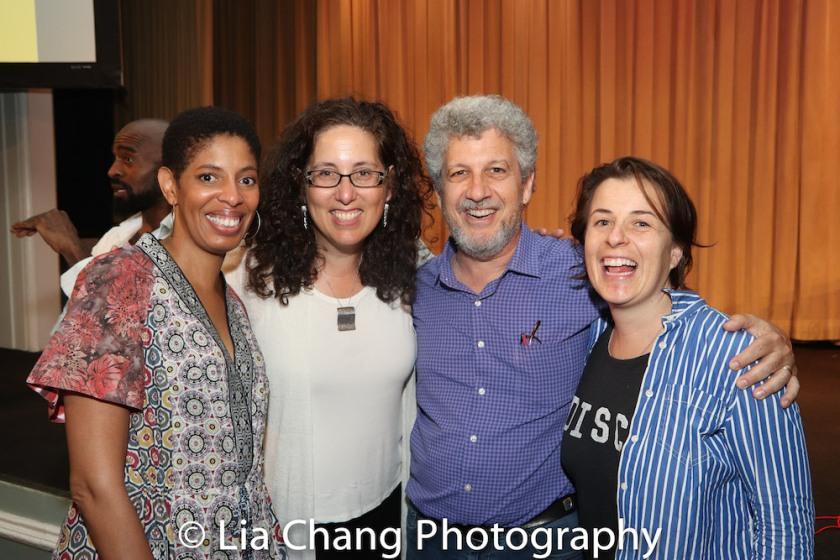 Lydia R. Diamond, Mara Isaacs, Tod London and Winter Miller. Photo by Lia Chang