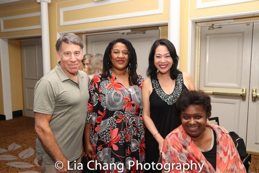 Stephen Schwartz, Lynn Nottage, Christine Toy Johnson and Kirsten Childs. Photo by Lia Chang