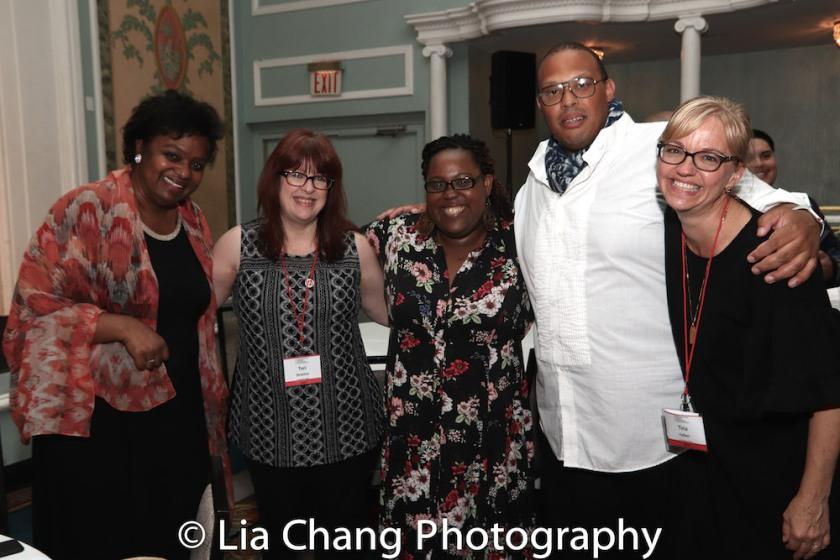 Kirsten Childs, Tari Stratton, Ashley D. Kelley, Tina Fallon. Photo by Lia Chang
