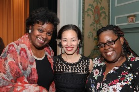 Kirsten Childs, Lia Chang and Ashley D. Kelley.