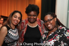 Rona Siddiqui, Kirsten Childs and Ashley D. Kelley. Photo by Lia Chang