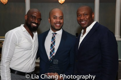 Derric Harris, R. Eric Thomas and Alton Fitgerald White. Photo by Lia Chang