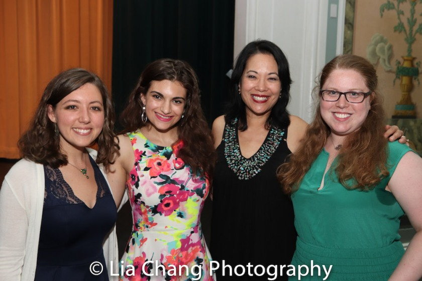 Lily Dwoskin, Kristin Kapinos, Christine Toy Johnson, Sarah Rebell. Photo by Lia Chang