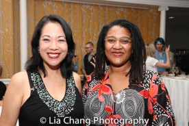 Christine Toy Johnson and Lynn Nottage. Photo by Lia Chang