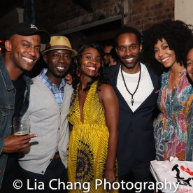 Charles Hudson III, Joniece Abbott-Pratt, Jaime Lincoln Smith, Nedra McClyde and Christopher Livingston. Photo by Lia Chang
