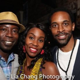 Charlie Hudson III, Joniece Abbott-Pratt and Jaime Lincoln Smith. Photo by Lia Chang