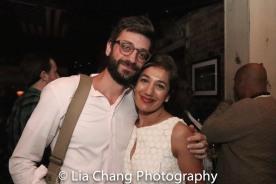 Daniel Kublick and Purva Bedi. Photo by Lia Chang