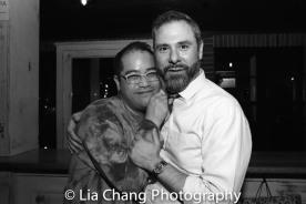 Ed Iskandar and Jeremy Blocker. Photo by Lia Chang