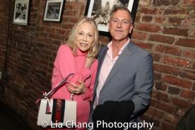 Faye Dunaway and Tony Cloer. Photo by Lia Chang