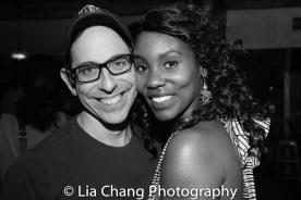 Garth Kravits and Joniece Abbott-Pratt. Photo by Lia Chang