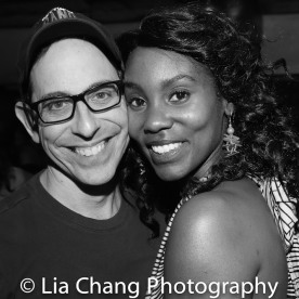Garth Kravits and Joniece Abbott-Pratt. Photo by Lia Chang