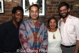 Hubert Point-Du Jour, Ed Iskandar, Purva Bedi and Dan Kublick. Photo by Lia Chang