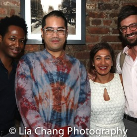 Hubert Point-Du Jour, Ed Iskandar, Purva Bedi and Dan Kublick. Photo by Lia Chang