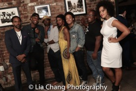 Jaime Lincoln Smith, Charlie Hudson III, Joniece Abbott-Pratt, Christopher Livingston, Michael Jackson and Lilieana Blain Cruz. Photo by Lia Chang
