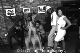 Jaime Lincoln Smith, Charlie Hudson III, Joniece Abbott-Pratt, Michael Jackson and Christopher Livingston, Lileana Blain-Cruz. Photo by Lia Chang