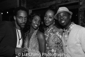 Jaime Lincoln Smith, Joniece Abbott-Pratt, Harriet D. Foy and Charlie Hudson III. Photo by Lia Chang-282