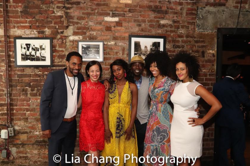 Jaime Lincoln Smith, Lia Chang, Joniece Abbott-Pratt, Charlie Hudson III, Nedra McClyde, Lilean Blain-Cruz. Photo by Lia Chang