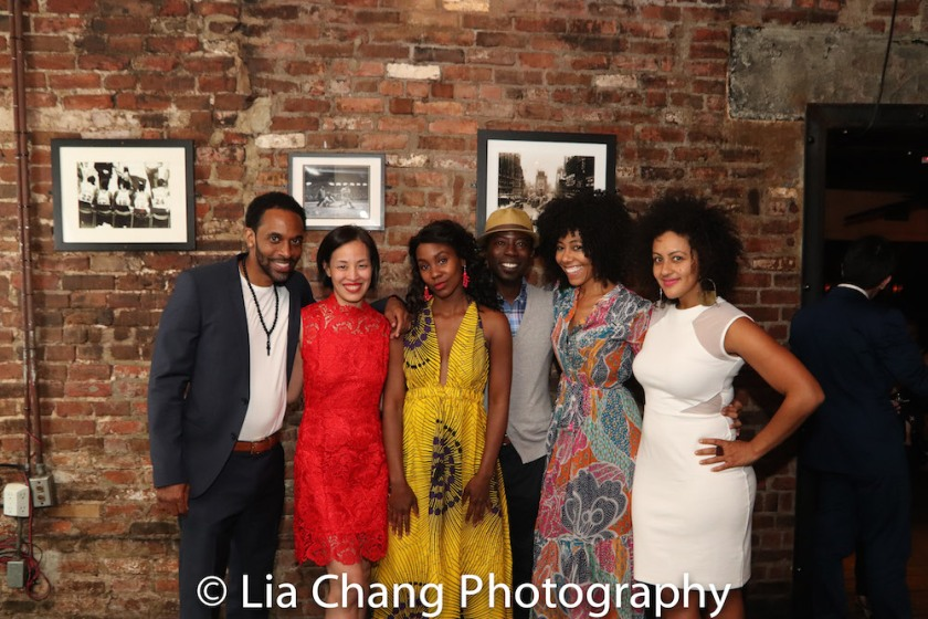 Jaime Lincoln Smith, Lia Chang, Joniece Abbott-Pratt, Charlie Hudson III, Nedra McClyde, Lilean Blain-Cruz. Photo by Lia Chang