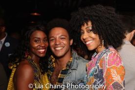 Joniece Abbott-Pratt, Christopher Livingston, Nedra McClyde. Photo by Lia Chang