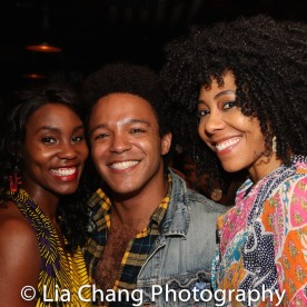 Joniece Abbott-Pratt, Christopher Livingston, Nedra McClyde. Photo by Lia Chang