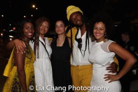 Joniece Abbott-Pratt, Juliana Canfield, Jeremy O. Harris and Lileana Blain-Cruz. Photo by Lia Chang