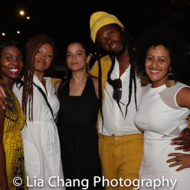 Joniece Abbott-Pratt, Juliana Canfield, Jeremy O. Harris and Lileana Blain-Cruz. Photo by Lia Chang