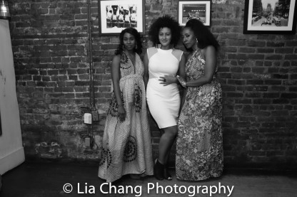 Joniece Abbott Pratt, Lileana Blain - Cruz and Harriet D. Foy. Photo by Lia Chang