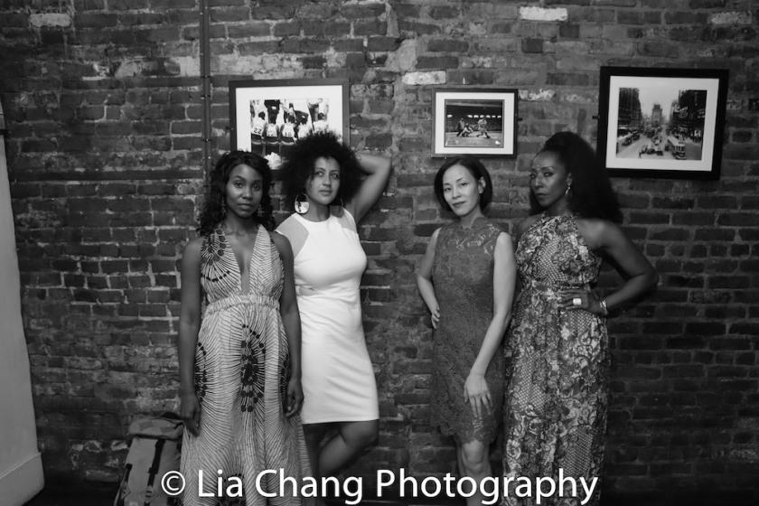 Joniece Abbott-Pratt, Lileana Blain-Cruz, Lia Chang, Harriet D. Foy. Photo by Charlie Hudson III