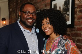 Juan Shackelford and Nedra McClyde. Photo by Lia Chang