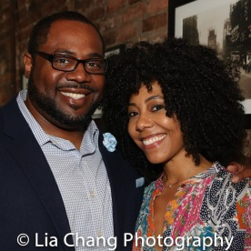 Juan Shackelford and Nedra McClyde. Photo by Lia Chang