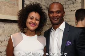 Lileana Blain-Cruz and Carl Cofield. Photo by Lia Chang