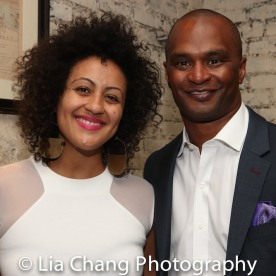 Lileana Blain-Cruz and Carl Cofield. Photo by Lia Chang