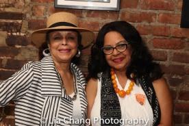 Marie Thomas and Lynda Gravatt. Photo by Lia Chang